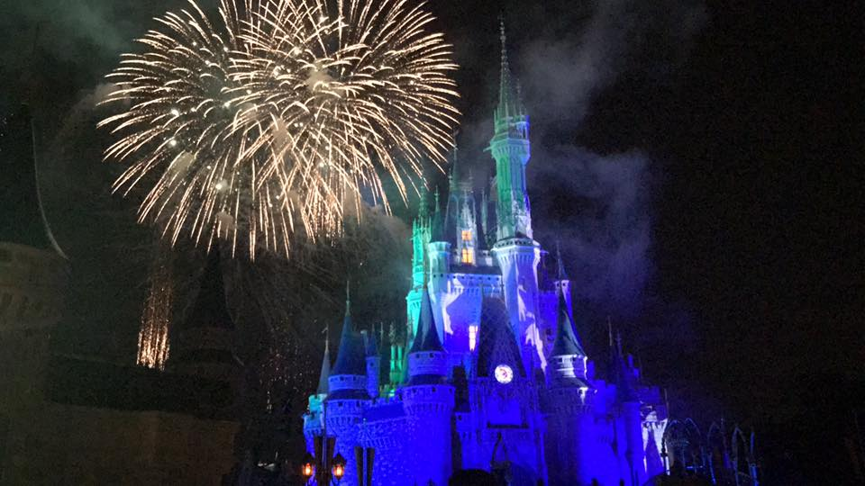 Happy HalloWishes Fireworks, #MNSSHP 46