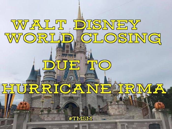 Walt Disney World Parks Closing Due To #HurricaneIrma 5