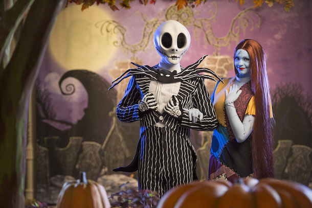 Jack & Sally from 'Tim Burtin's The Nightmare Before Christmas'