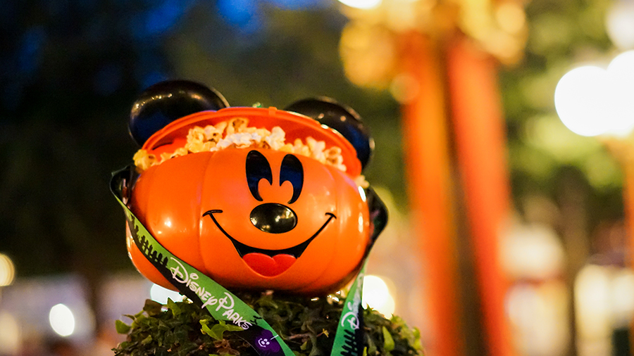 Halloween Time_Novelty_Mickey Pumpking Popcorn Bucket