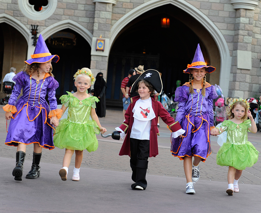 Costume Guidelines for Mickey's Not-So-Scary Halloween Party 1