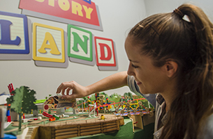All in the Details: Imagineers Put Final Touches On The Toy Story Land Model For Walt Disney Presents 1