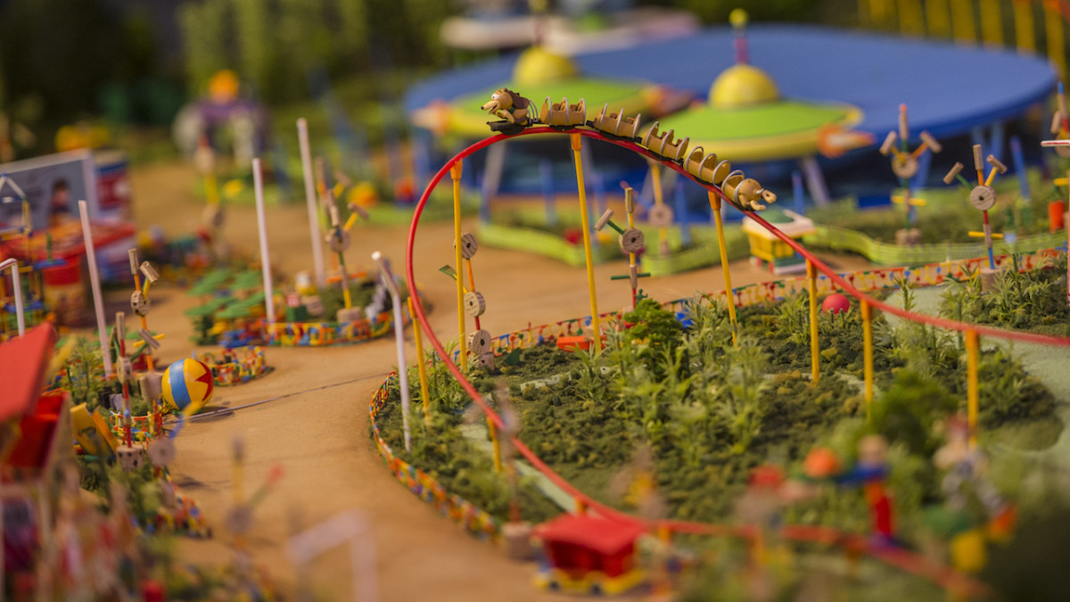 Toy Story Land Model & More Now on Display at Walt Disney Presents 2