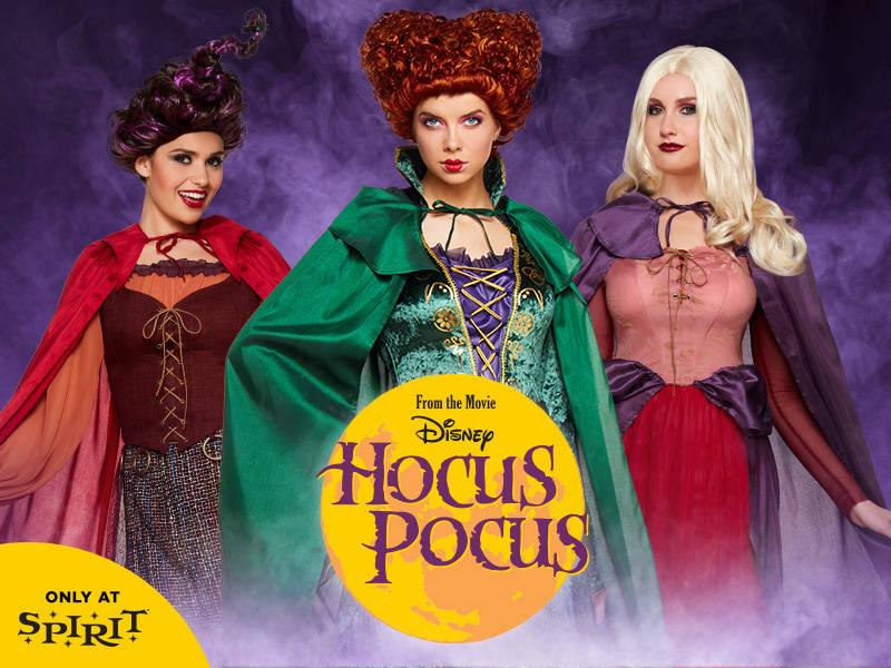 Run Amok, Amok, Amok as the Sanderson Sisters this Halloween ...