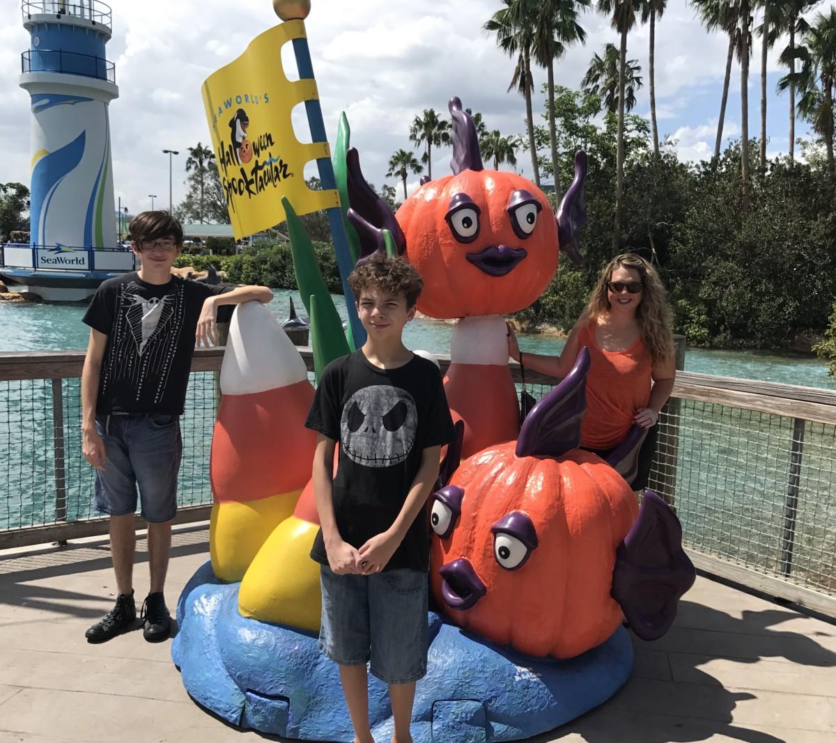 Photos from Sea World Orlando's Halloween Spooktacular 2