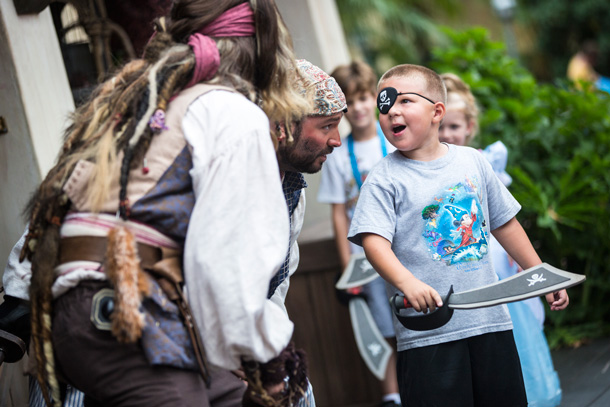 International Talk Like a Pirate Day with Disney PhotoPass Service