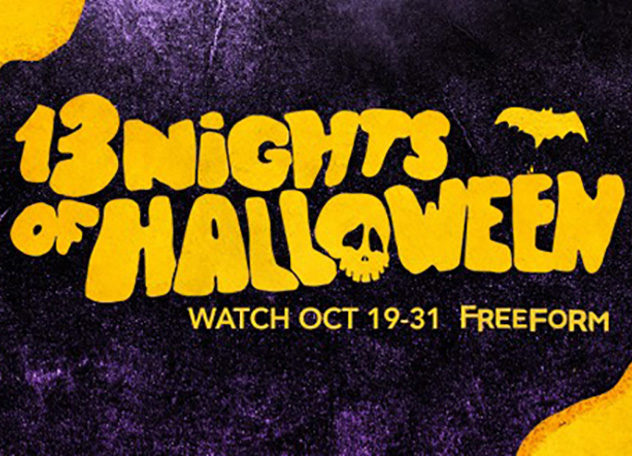 Freeform's 13 Days of Halloween Programming Schedule is here! 1