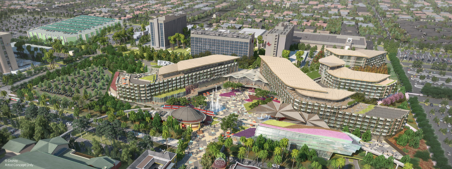 New Hotel Coming to the Disneyland Resort in 2021 1