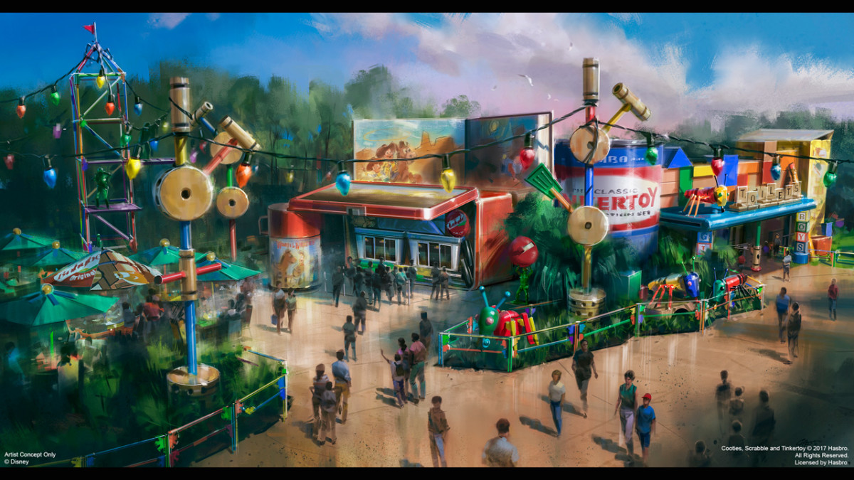 All in the Details: First Look at Woody's Lunch Box in Toy Story Land 4