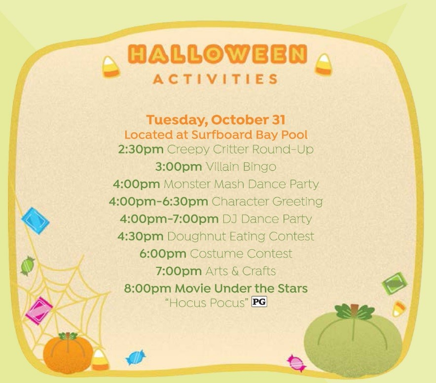 Walt Disney World Halloween Resort Activities 3