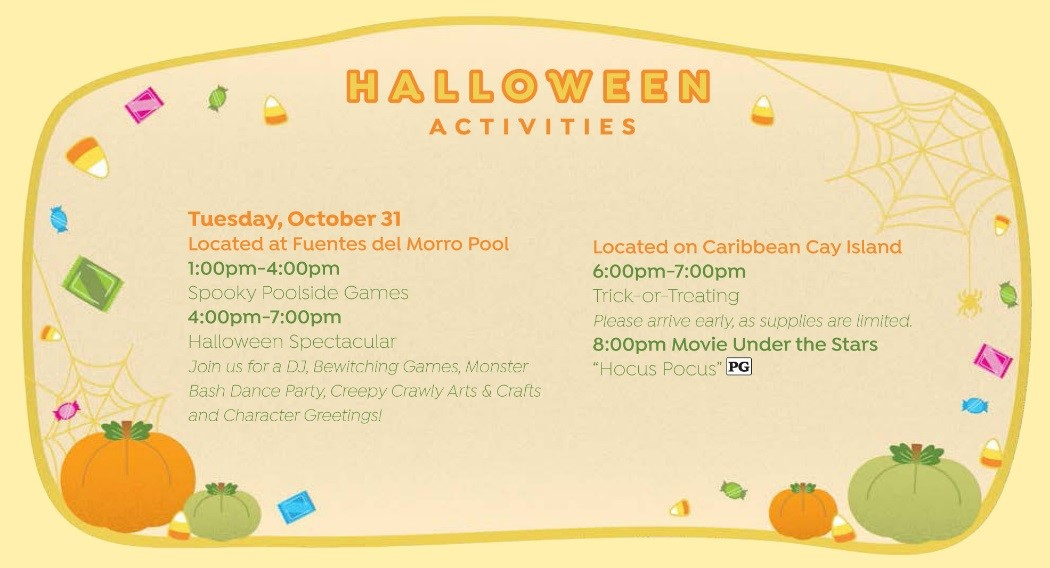 Walt Disney World Halloween Resort Activities 4