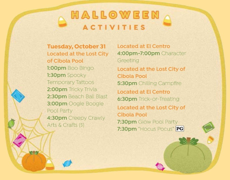 Walt Disney World Halloween Resort Activities 5