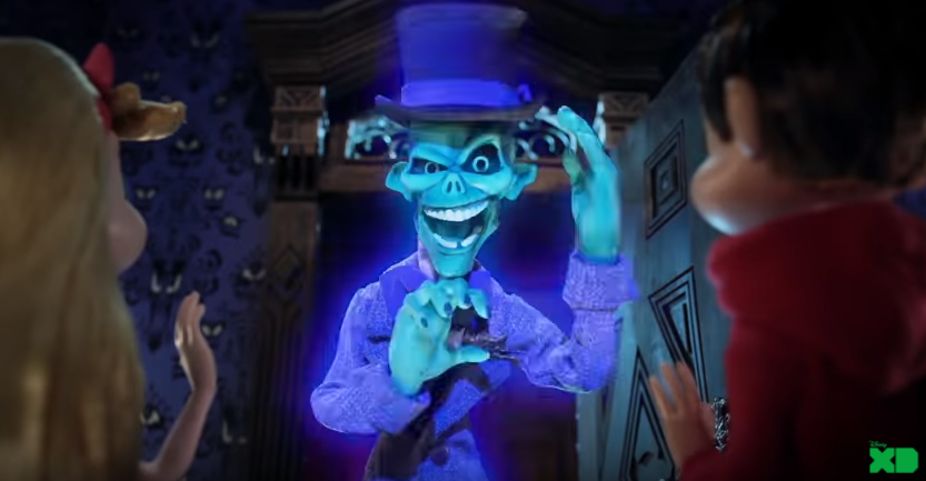 Beware of Hitchhiking Ghosts! 'HAUNTED MANSION' Animated On-Air Promos Debut  Starting Today, On Disney XD 2
