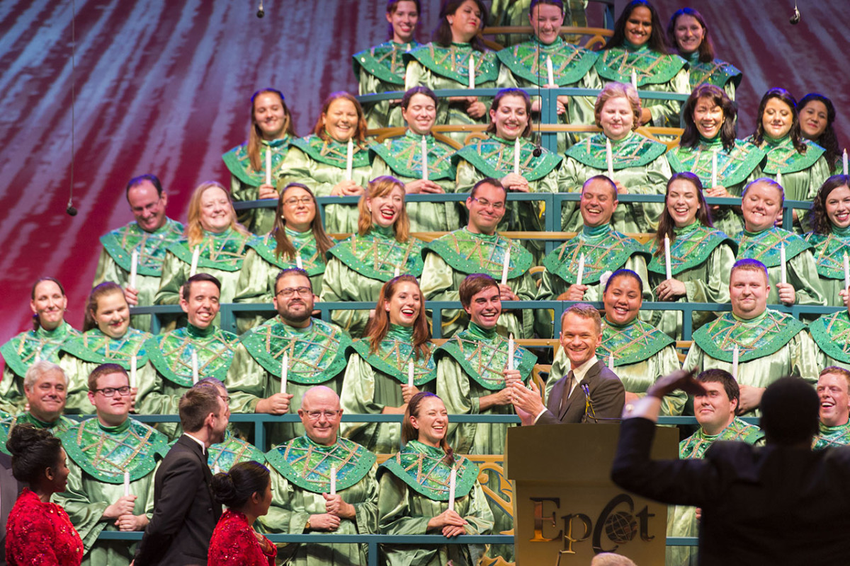 The 'Candlelight Processional' Returns To Epcot Tonight 2