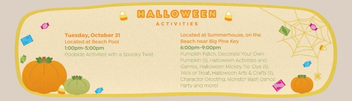Walt Disney World Halloween Resort Activities 6