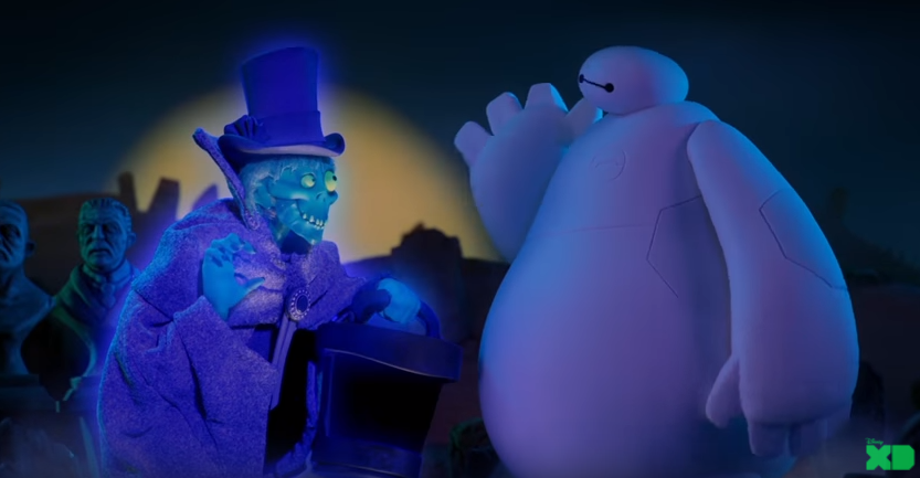 Beware of Hitchhiking Ghosts! 'HAUNTED MANSION' Animated On-Air Promos Debut Starting Today, On Disney XD 4