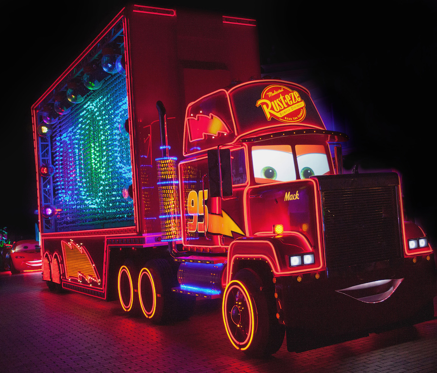 'Paint the Night' Parade at Disneyland Resort