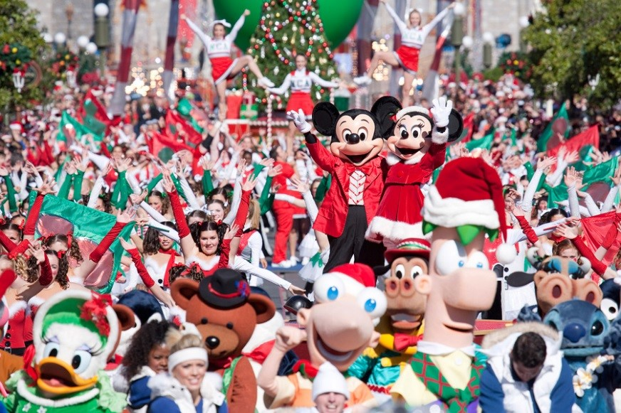 Walt Disney World Holiday Specials Taping Schedule 9