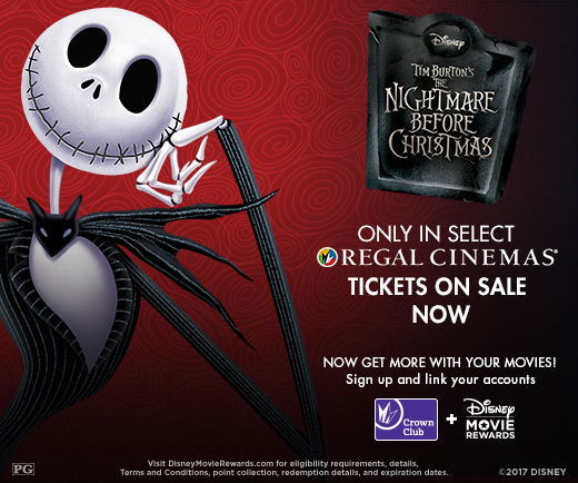 The Nightmare Before Christmas Limited Engagement at Regal Cinemas! 2