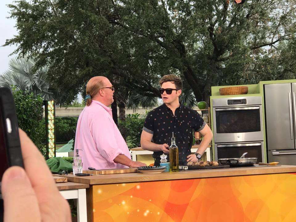 Our Morning With The Chew, Epcot! #thechewatepcot #tasteepcot 5
