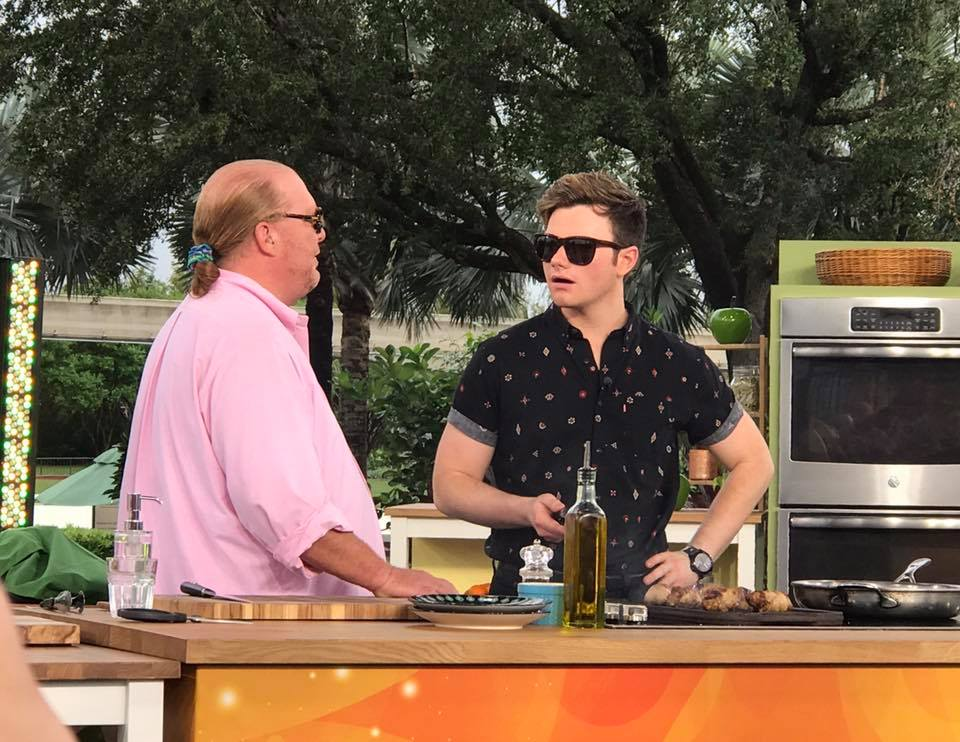 Our Morning With The Chew, Epcot! #thechewatepcot #tasteepcot 34