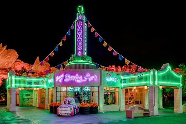A Walk in the Park – After Dark: Haul-O-Ween In Cars Land at Disney California Adventure Park 1