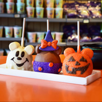 Character Apples at Candy Cauldron