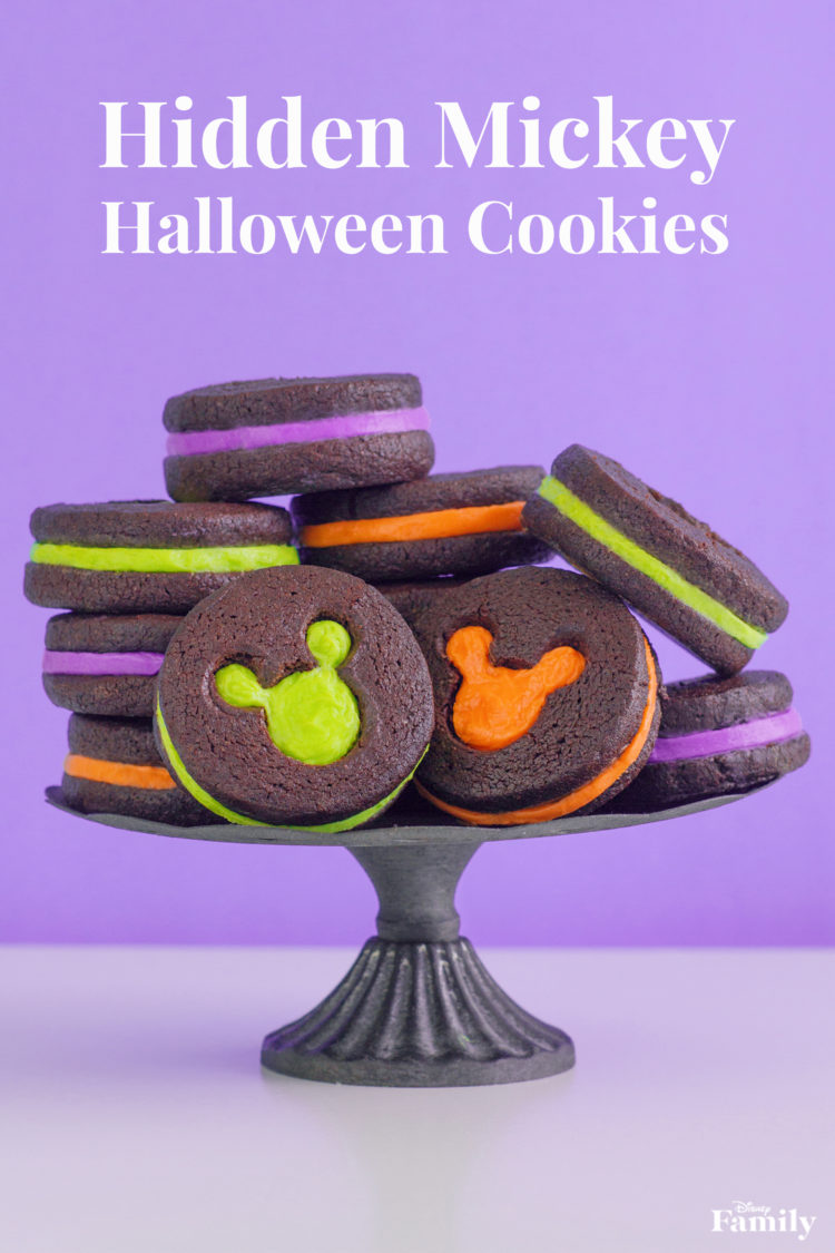 Hidden Mickey Halloween Cookies, Recipe! 3