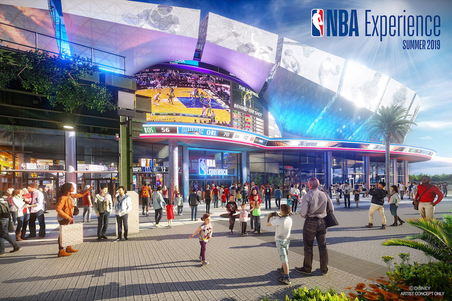Swish! Tickets Now Available for New NBA Experience at Disney Springs 26