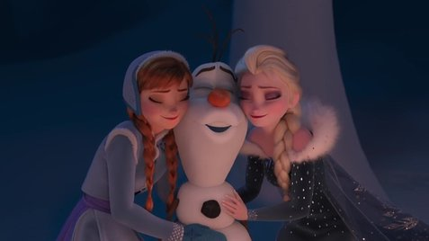 "Four Original Songs for New Animated Featurette ""Olaf's Frozen Adventure"" 1"
