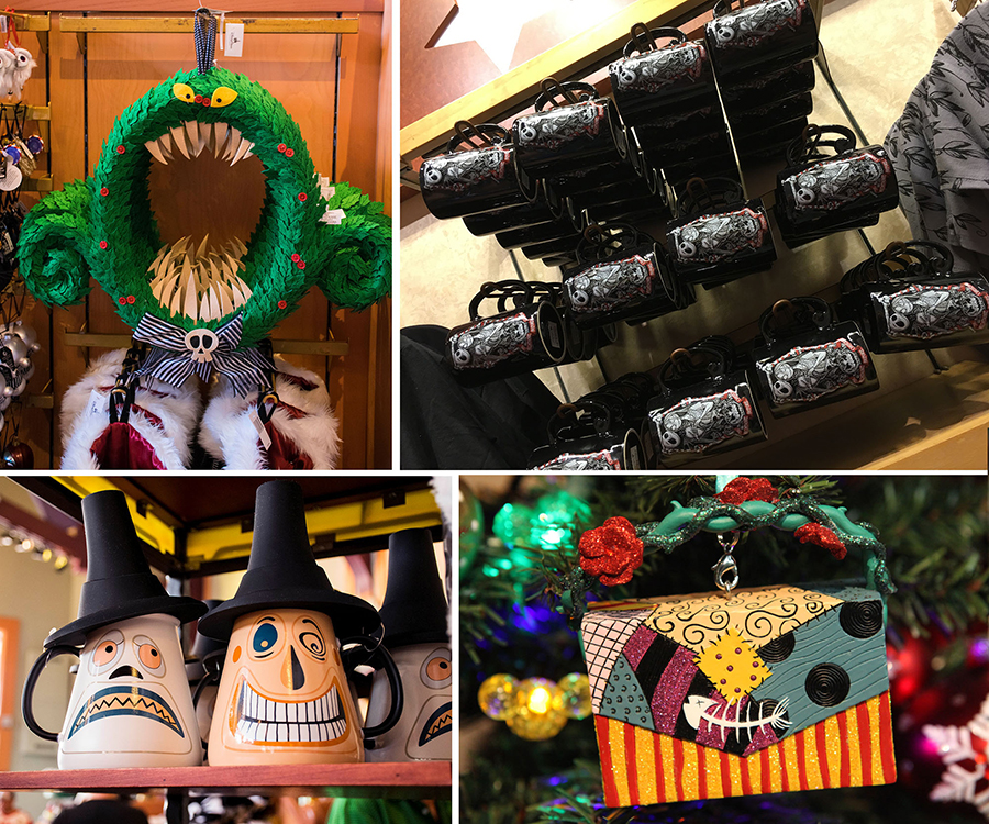 Haunt Your Holidays with New Products from 'Tim Burton's The Nightmare Before Christmas' at Disney Parks 2