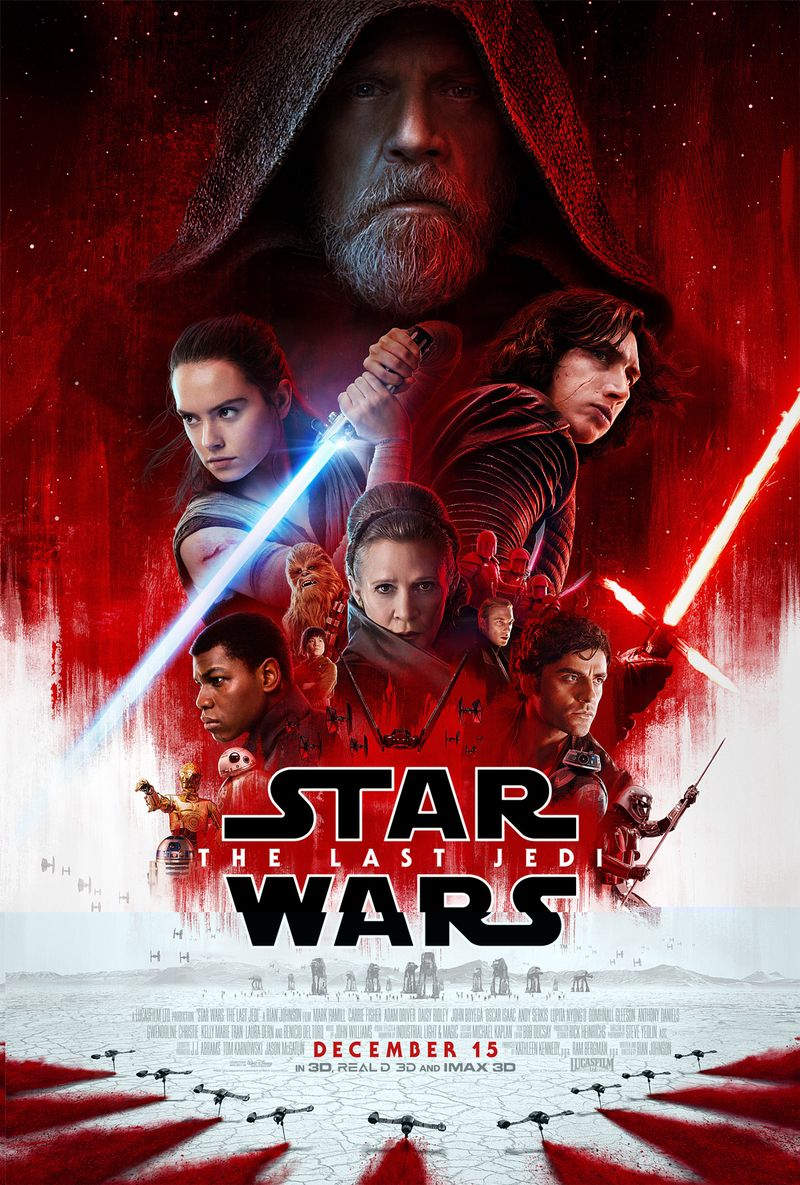 The New Star Wars: The Last Jedi trailer is here! (link below) 1