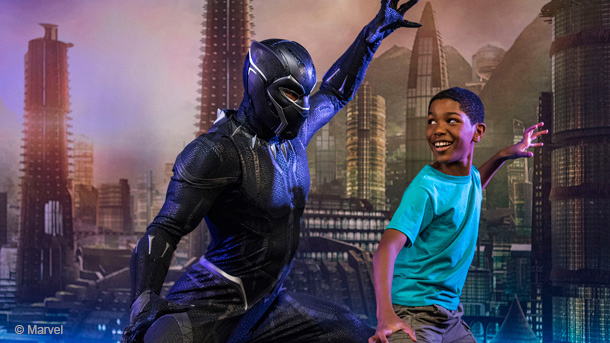 Encounter Black Panther in 2018 at Disney California Adventure Park 1