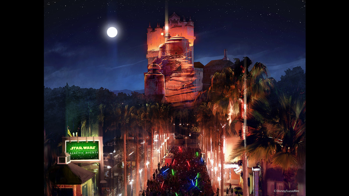 New Celebs, Stunning Projections & More Announced for Star Wars Galactic Nights 1