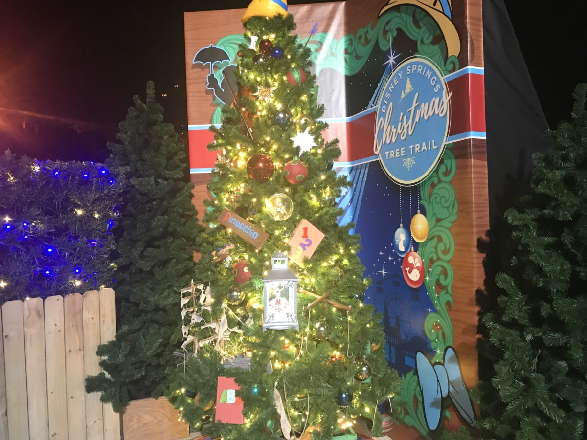 The Christmas Tree Trail, #DisneySprings ~ Photos 5