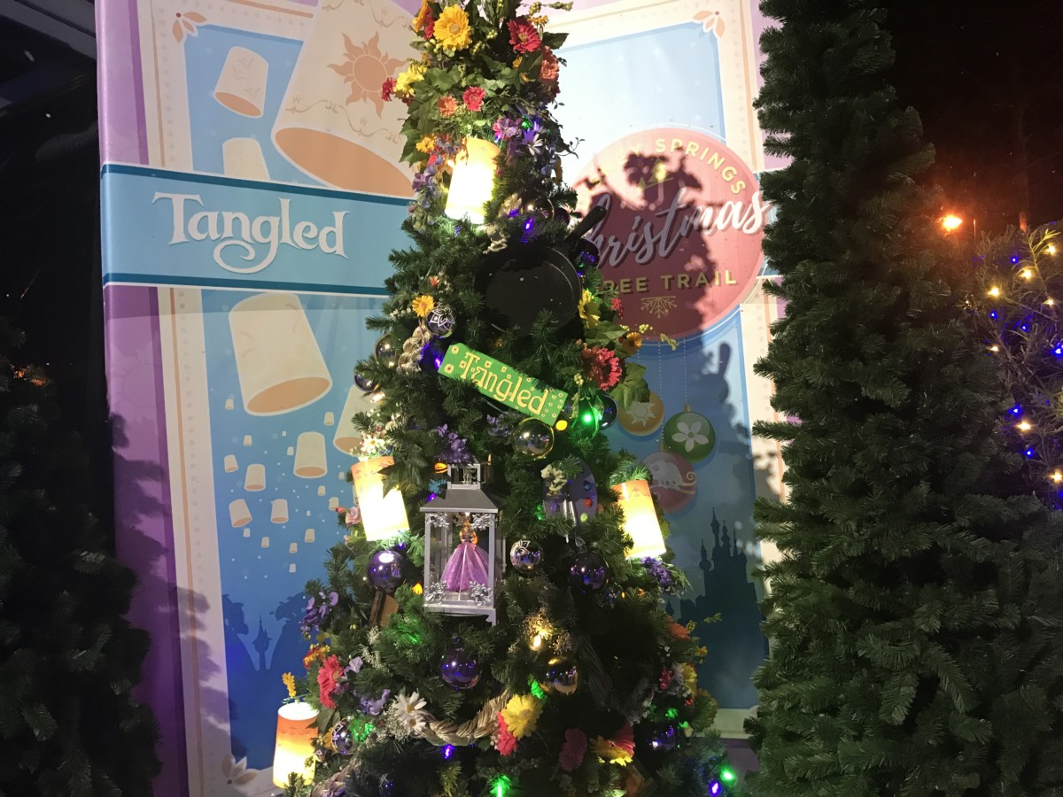 The Christmas Tree Trail, #DisneySprings ~ Photos 7