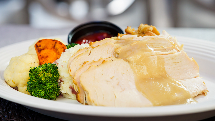 Thanksgiving Fare at The Walt Disney World Resort 1