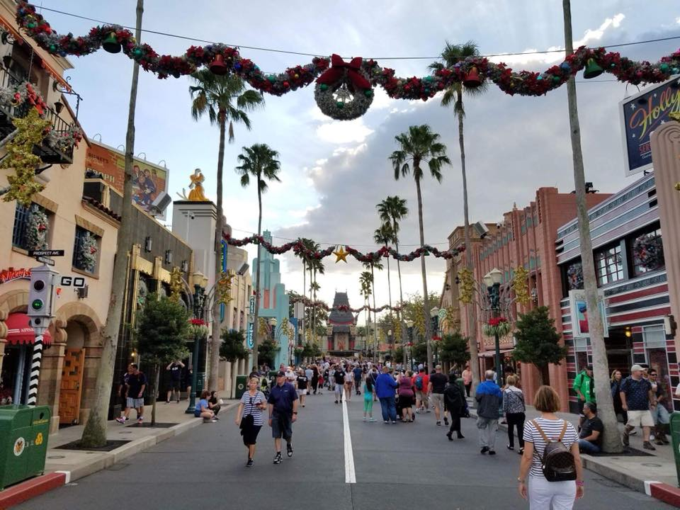 Christmas Decorations hit Disney's Hollywood Studios! Pics below! 1
