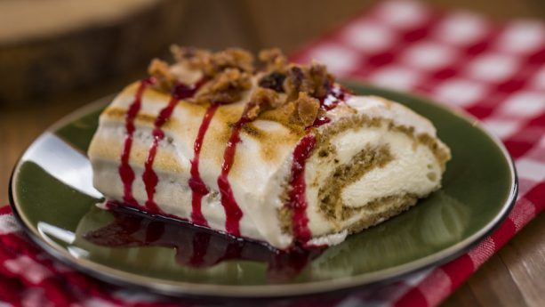 Maple Bûche de Noël from Yukon Holiday Kitchen at Epcot International Festival of the Holidays