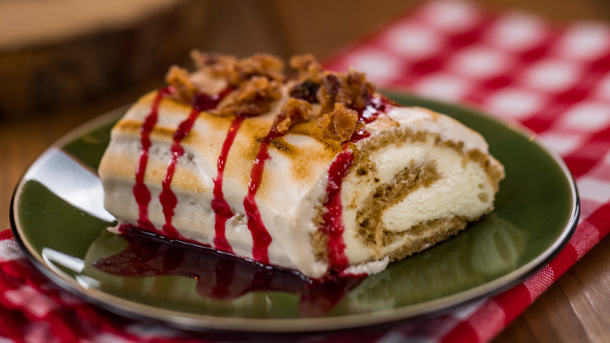 Gingerbread Chiffon Cake from Canada at Epcot International Festival of the Holidays