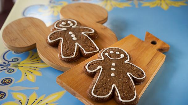 Gingerbread Man Cookies at Disneyland Resort