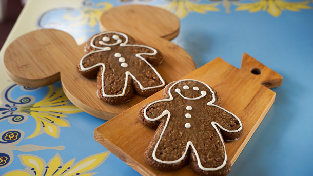 Gingerbread Man Cookies at Disneyland Resort