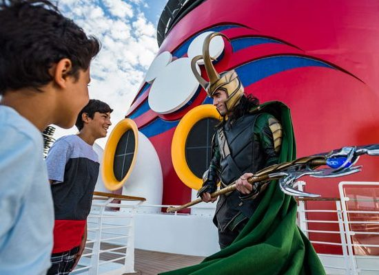 First Look: Loki Makes His Debut Alongside Thor at Marvel Day at Sea 6