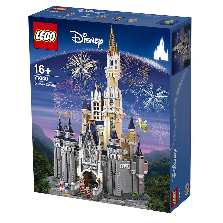 The Disney Castle by LEGO