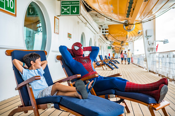 First Look: Marvel Day at Sea on the Disney Magic 1
