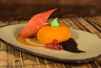 Pumpkin Mousse at Satu'li Canteen in Disney's Animal Kingdom