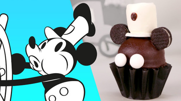 Steamboat Willie Cupcakes! Make Your Own! 1