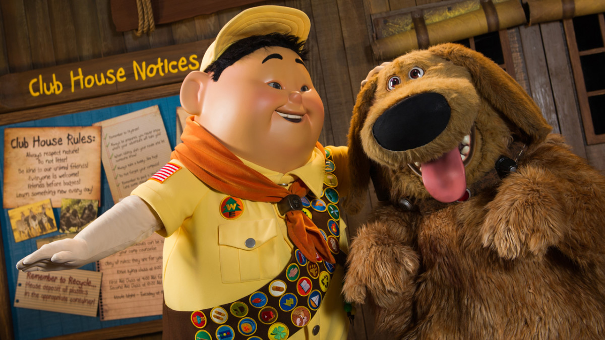 12 Days of Disney Parks Christmas: New Show at Disney's Animal Kingdom to Feature Russell, Dug from Disney•Pixar's 'UP' 3