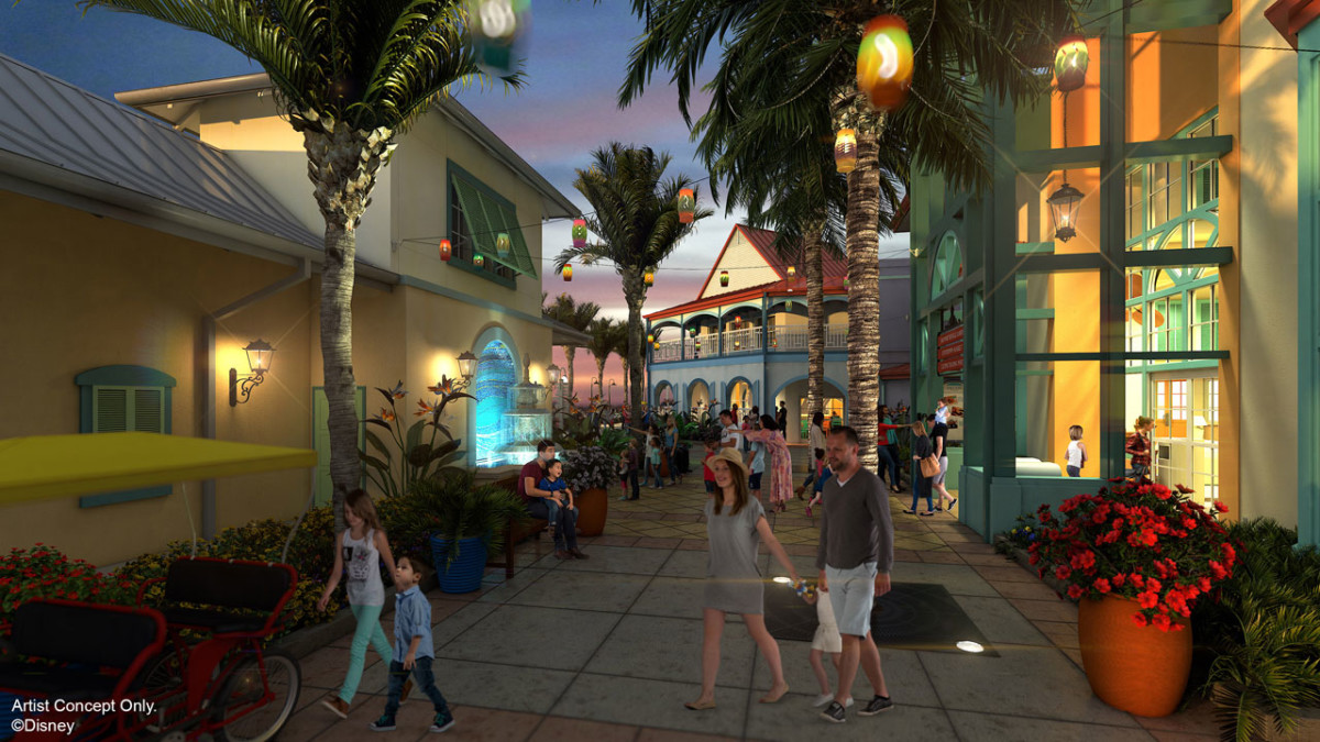 12 Days of Disney Parks Christmas: Transformation Details Revealed for Disney's Caribbean Beach Resort 1