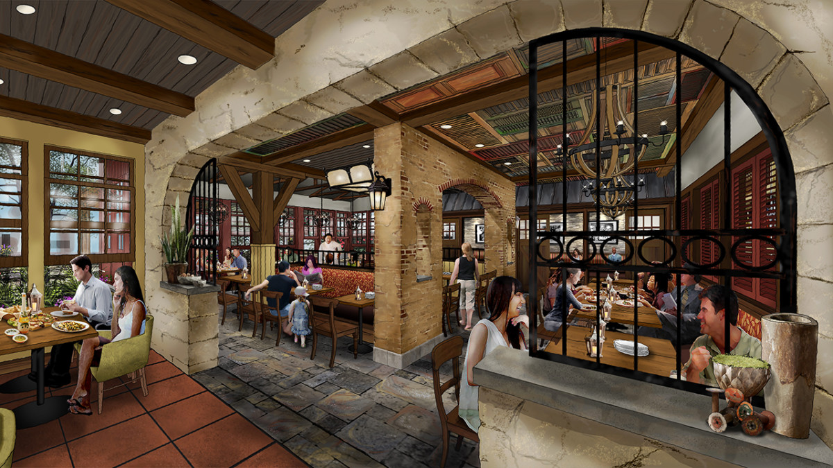 12 Days of Disney Parks Christmas: New Details Revealed for Terralina Crafted Italian, Coming to Disney Springs in Early 2018 3